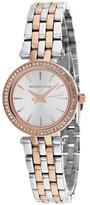 Michael Kors Darci MK3298 Women's Stainless Steel Watch with Crystal Accents