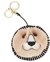 Kate Landry Lion Faux-Fur Pom Pom
