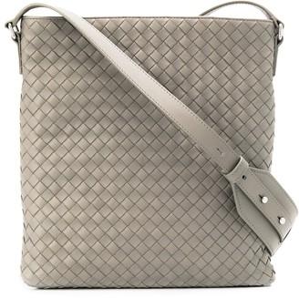 Bottega Veneta Intrecciato Weave Messenger Bag