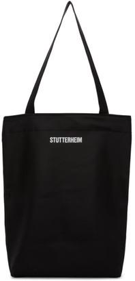 Stutterheim SSENSE Exclusive Black Ropsten Tote