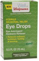 Walgreens Eye Drops Seasonal Itch Redness