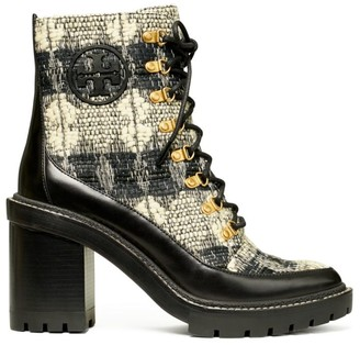 Tory Burch Miller Lug-Sole Boucle Hiking Boots