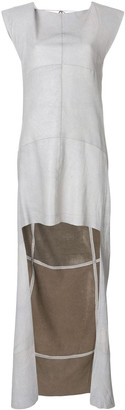Olsthoorn Vanderwilt asymmetric sleeveless dress
