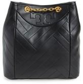 Tory Burch Alexa Leather Backpack - Black