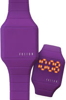 Dakota Fusion Kids Mini Hidden LED Watch, Purple 52564