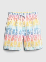 Gap Toddler Pineapple Swim Trunks