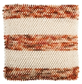 Striped Looped Wool Pillow