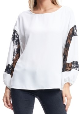 Fever Blouse with Lace