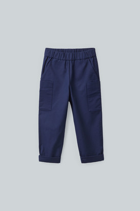 Cos Cotton Pants With Patch Pockets