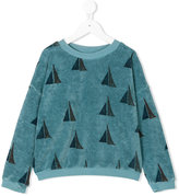 Bobo Choses sail boat pattern sweatshirt