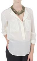 Pomandére Long Sleeve Pocket Shirt