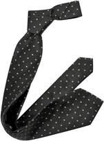 Forzieri Outlined Diamond Pattern Woven Silk Tie