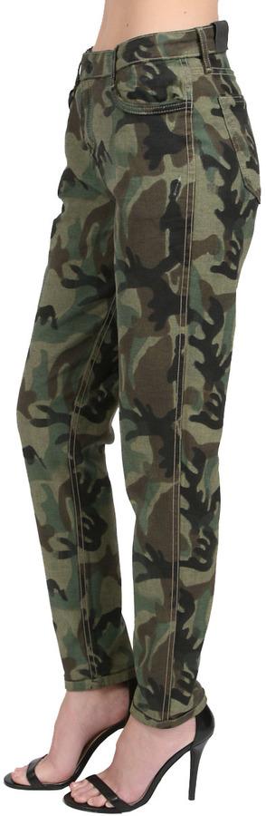 Bleu Lab Bleulab 8 Pocket Anti-Fit Legging in Camouflage/Raw