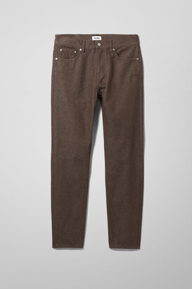 Weekday Bobbin Recycled Jeans - Brown