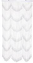 ShopWildThings Beaded Curtain Raindrops Crystal Acrylic