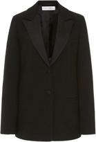 Victoria Victoria Beckham Satin-Trimmed Cady Tuxedo Jacket