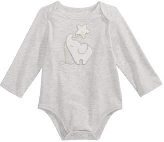 First Impressions Baby Girls Elephant Bodysuit