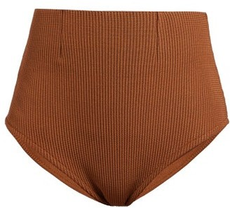 Haight Amanda High-rise Bikini Briefs - Womens - Camel