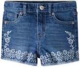 Levi's Embroidered Denim Shorts, Big Girls (7-16)