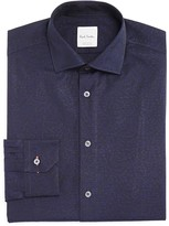 Paul Smith Floral Textured Ground Slim Fit Dress Shirt