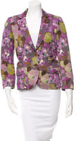 Etro Fitted Floral Blazer
