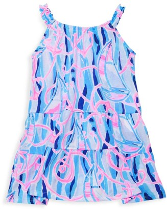Lilly Pulitzer Little Girl's & Girl's Loro T-Shirt Dress