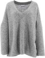 Ganni Knitted V-Neck Pullover