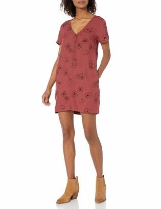 RVCA Women's Short Sleeve Mini Dress