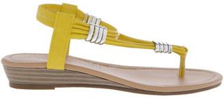 Miss Shop Monica Yellow Sandal