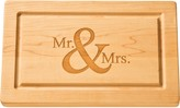 The Well Appointed House Personalized Artisan 13''x8'' Rectangle Cutting Board with No Handles