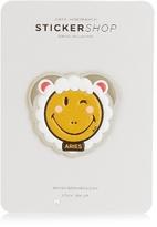 Anya Hindmarch Aries zodiac small sticker