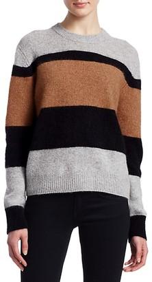 360 Sweater Block Stripe Crew Sweater