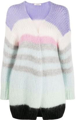 Dorothee Schumacher Chunky-Knit Striped Cardigan