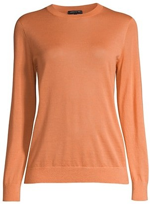 Lafayette 148 New York Cashmere Crewneck Sweater