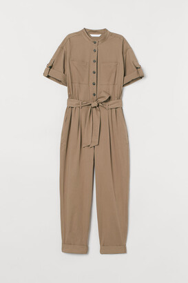 H&M Ankle-length Jumpsuit - Yellow