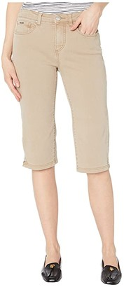 FDJ French Dressing Jeans Solid Cool Twill Olivia Pedal Pusher in Jute (Jute) Women's Jeans