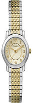 Timex Women's Cavatina | Two-Tone Band Silver-Tone Case | Watch TW2P60200