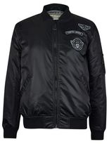 Burton Burton Tokyo Laundry Black Amalfi Bomber Jacket*