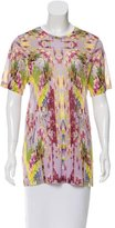 Matthew Williamson Printed Short Sleeve Top