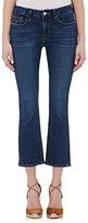 Frame Women's Le Crop Mini Boot Jeans-BLUE