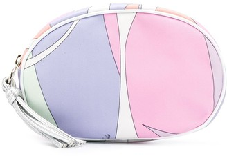 Emilio Pucci Alex Print Large Cosmetic Case
