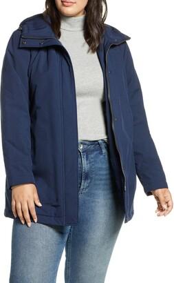 Kristen Blake Insulated Hooded Rain Jacket