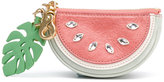 See by Chloe watermelon coin purse - women - Cotton/Calf Leather - One Size