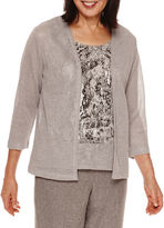 Alfred Dunner Crescent City Layered Top