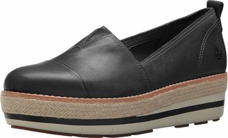 Timberland Womens Emerson Point Slip-On Black Full Grain 11 B - Medium