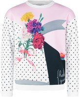 GUESS Floral Spotted Sweatshirt