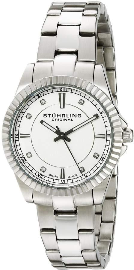 Stuhrling Original Women's 408LL.01 Symphony Analog Display Swiss Quartz Watch