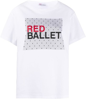 RED Valentino printed T-shirt