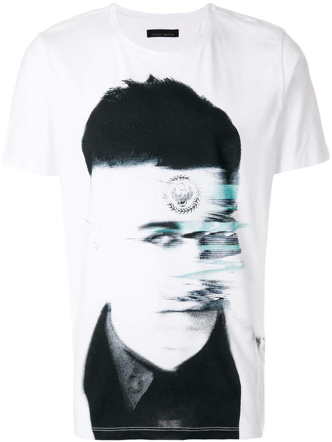 Frankie Morello portrait print T-shirt