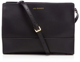 Lulu Guinness Women's Daphne Smooth Leather Cross Body Bag Black